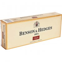 Benson & Hedges 100's Luxury Soft Pack cigarettes 10 cartons