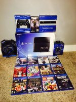 Sony PlayStation 4 (Latest Model)- 500 GB Jet Console New