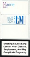 L&M MIXX BLUE MARIN SUPER SLIMS cigarettes 10 cartons