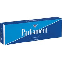 Parliament Blue Pack Box cigarettes 10 cartons