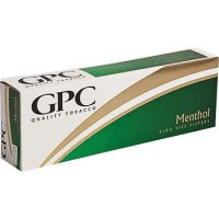 GPC Menthol King Soft Pack cigarettes 10 cartons