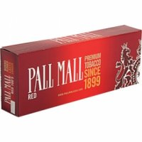 Pall Mall Red 100's cigarettes 10 cartons