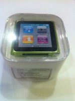 Apple iPod nano 6th Generation Green 16 GB Digital Media Player