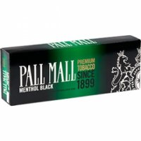 Pall Mall Menthol Black Cigarettes 10 cartons