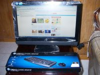 "HP Compaq 6000 Pro 21.5"" All-in-One Core 2 Duo E8500 3.16GHz 4GB"