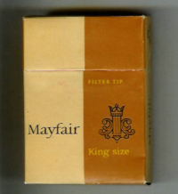 Mayfair Filter Tip King Size hard box cigarettes 10 cartons