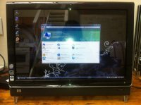 HP TouchSmart IQ504 KQ436AA All-in-One Desktop