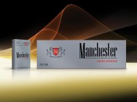Manchester Round Corner Class Silver cigarettes 10 cartons