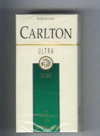 Carlton Ultra Slims Menthol Tar 1 mg cigarettes 10 cartons