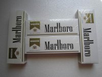 Marlboro Gold Shorts 6 Cartons