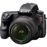 Sony Alpha SLT-A37K 16.1 MP 16,000 ISO SLR Kit w/ 18-55mm Lens