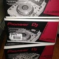 LIMITED EDITION WHITE MODEL pioneer CDJ-2000 AND DJM-900Nexus