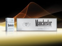 Manchester silver king size cigarettes 10 cartons
