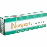 Newport Menthol Gold box cigarettes 10 Cartons