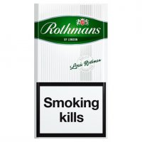 Rothmans Value Menthol Super King cigarettes 10 cartons