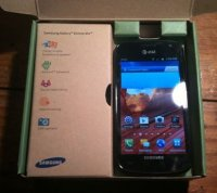 Samsung Galaxy Exhilarate SGH-I577 4GB Black Smartphone