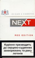 Next Red Edition Cigarettes 10 cartons