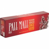 Pall Mall Red Kings cigarettes 10 cartons