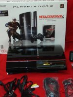 PlayStation 3 Metal Gear Solid 4: Guns of the Patriots 80 GB