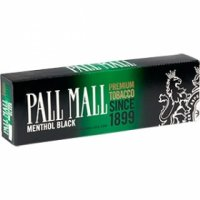 Pall Mall Black 100's Cigarettes 10 cartons