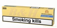 Benson & Hedges Smooth Gold cigarettes 10 cartons