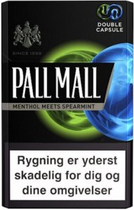 Pall Mall Double Capsule cigarettes 10 cartons