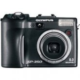 Olympus SP-350 8MP Digital Camera with 3x Optical Zoom