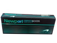 Newport Smooth Select Menthol 100'S Box Cigarettes 10 cartons