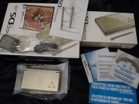 Nintendo DS Lite Gold with Legend of Zelda: Phantom Hourglass