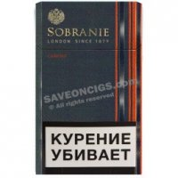 Sobranie Chrome Refine cigarettes 10 cartons