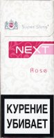 NEXT Rose Super Slims Cigarettes 10 cartons