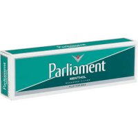 Parliament Menthol White Pack Box cigarettes 10 cartons