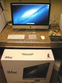 "27"" Apple iMac 3.4ghz 2TB HD + 256GB SSD 32gb Ram"