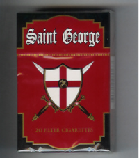 Saint George Cigarettes 10 cartons