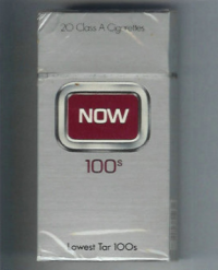 Now 100s soft box cigarettes 10 cartons