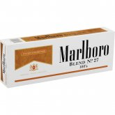 Marlboro Blend No. 27 100's Box cigarettes 10 cartons