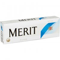 Merit Ultra Kings Blue Pack Soft Pack cigarettes 10 cartons