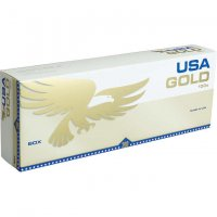USA Gold Gold 100's Box cigarettes 10 cartons