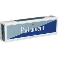Parliament Silver Pack Box cigarettes 10 cartons