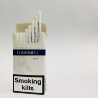 Compliment blue slims cigarettes 10 cartons