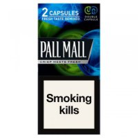 Pall Mall King size Double Capsule cigarettes 10 cartons