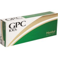 GPC Menthol 100's Soft Pack cigarettes 10 cartons