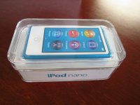 Apple iPod nano 7th Generation Blue 16 GB Latest Model