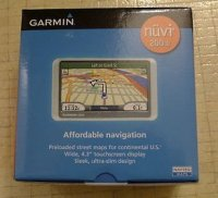 Garmin nuvi 200W Automotive portable GPS navigation Receiver
