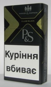 Parker&Simpson C-Line Black Cigarettes 10 cartons
