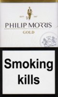 PHILIP MORRIS GOLD cigarettes 10 cartons