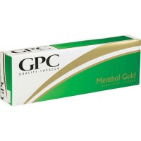 GPC Menthol Gold Soft Pack cigarettes 10 cartons