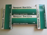Newport Box 100s Cigarettes 6 Cartons