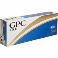 GPC Gold 100's cigarettes 10 cartons