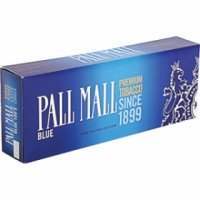 Pall Mall Blue 100's cigarettes 10 cartons